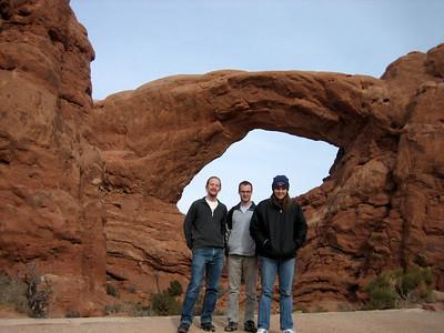Chris, Maurice and Andy