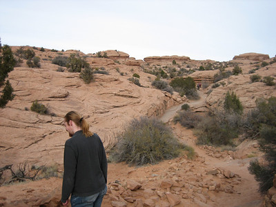 hike to Delicate Arch continues...