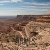 Moki Dugway dirt switchbacks, Utah