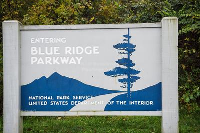 Blue Ridge Parkway, Milepost 0, Rockfish Gap