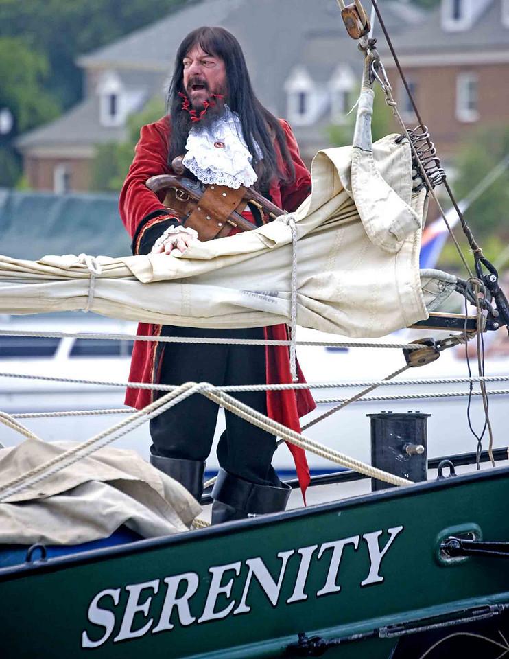 Blackbear's Festival, Hampton, Virginia. Festivities participant. The serene Blackbear himself prior to his hanging.