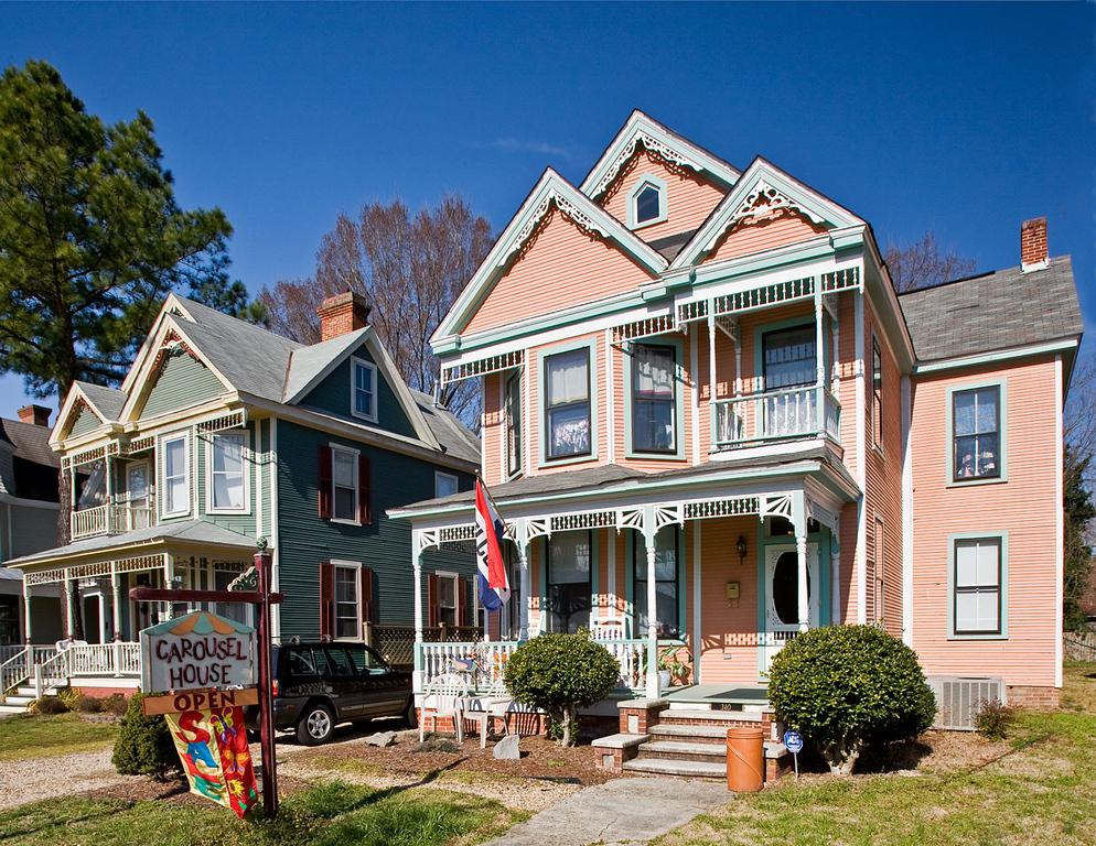 Carousel House in Main Street, Smithfield, Virginia