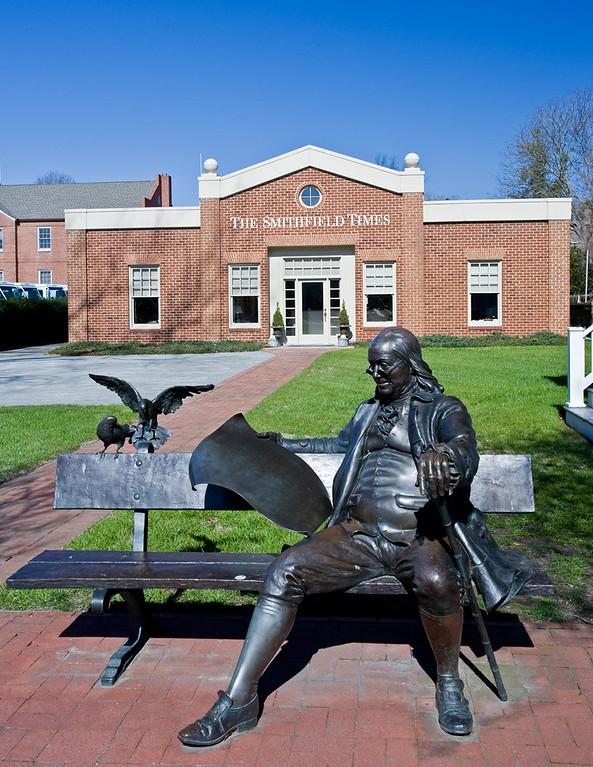 Ben Franklin Bronzed.