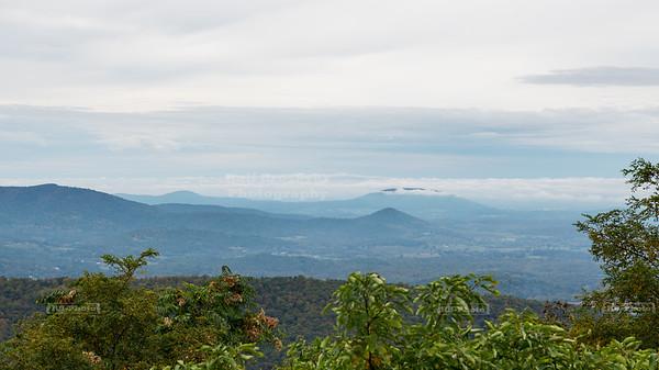 Skyline Drive Shenandoah National Park Milepost 10.5 - Indian Run Overlook