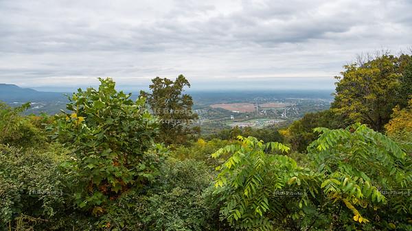 Skyline Drive Shenandoah National Park Milepost 2.8 - Shenandoah Valley Overlook