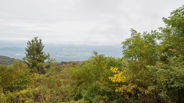 Skyline Drive Shenandoah National Park Milepost 13.6 - Hogwallow Flats Overlook