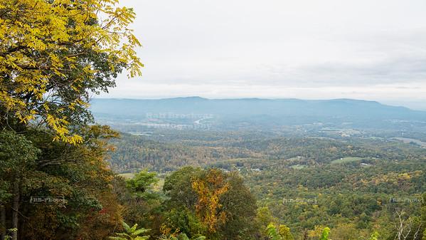 Skyline Drive Shenandoah National Park Milepost 6.8 - Gooney Run Overlook