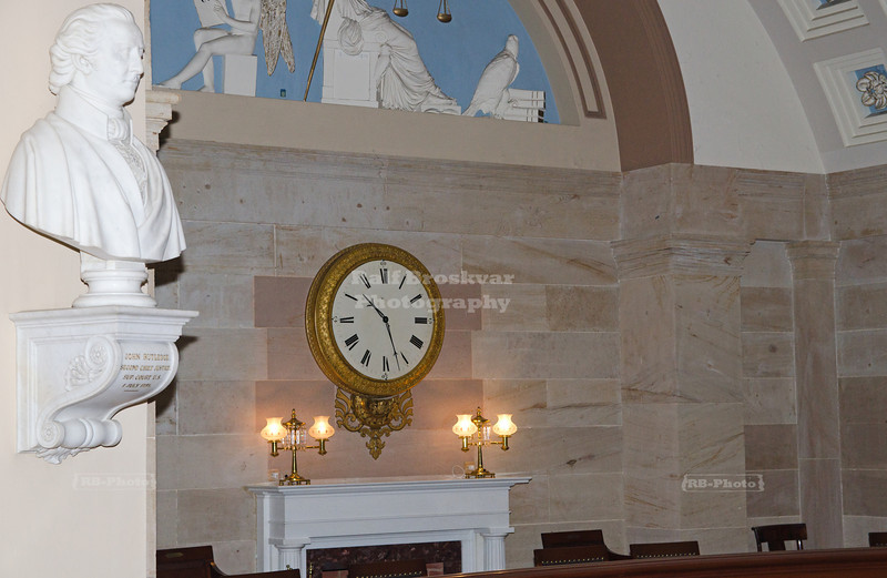 Old Supreme Court Gallery Clock