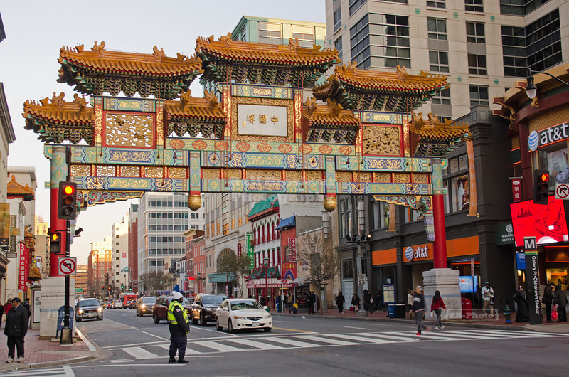 Friendship Archway in Washington's Chinatown