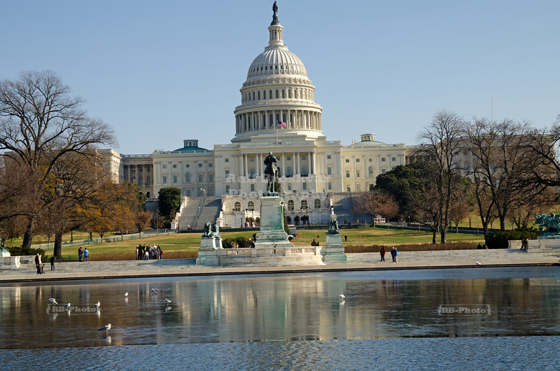 Capitol Building and Reflecting Pool