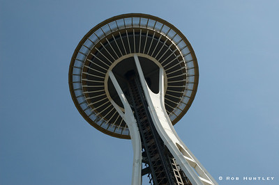 Space Needle, Seattle, Washington. © Rob Huntley