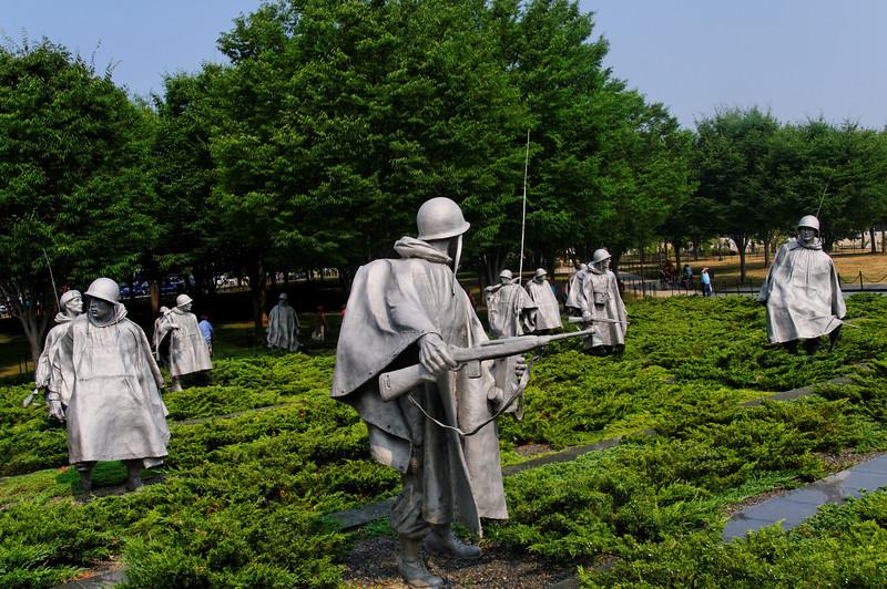 Korean War Memorial<br /> Washington, Estados Unidos