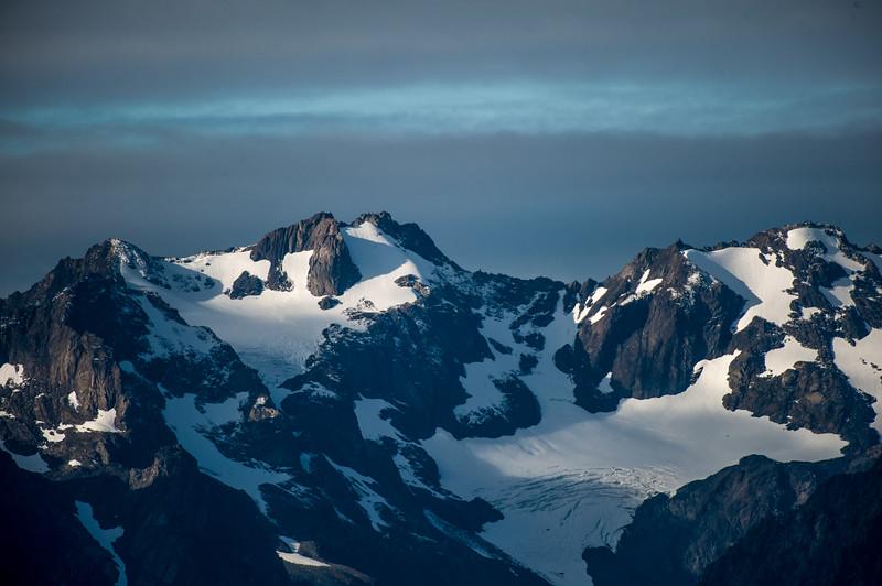 Oympic mountains