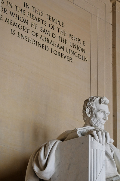 Lincoln Memorial<br /> Washington, Estados Unidos