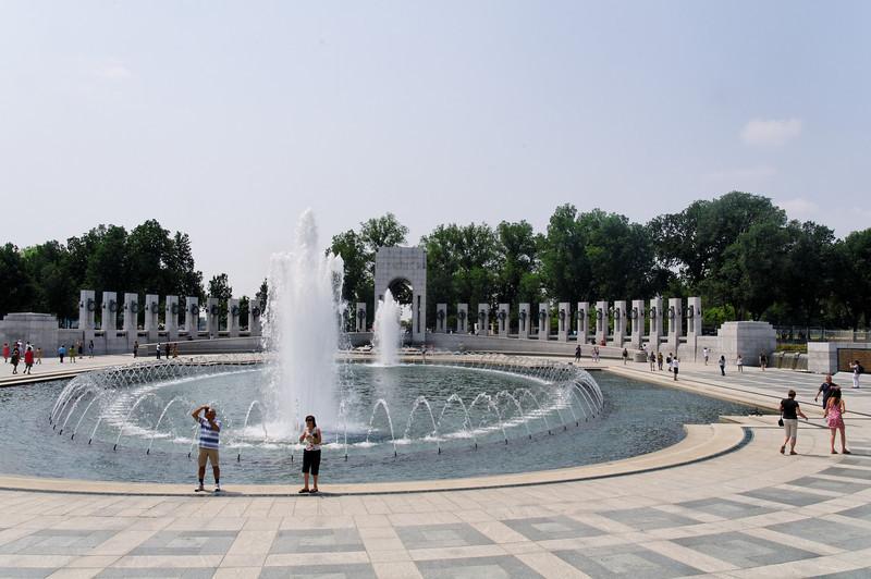 National World War II Memorial<br /> Washington, Estados Unidos