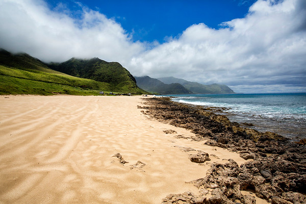 Kaena Point Beach and Hike on Oahu, Hawaii