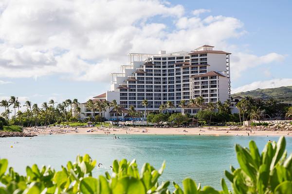 Ko Olina Beach Resort on Oahu, Hawaii