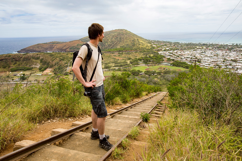 Koko Head Crater Hike on Oahu, Hawaii