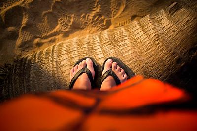 Toes - Maui, Hawaii