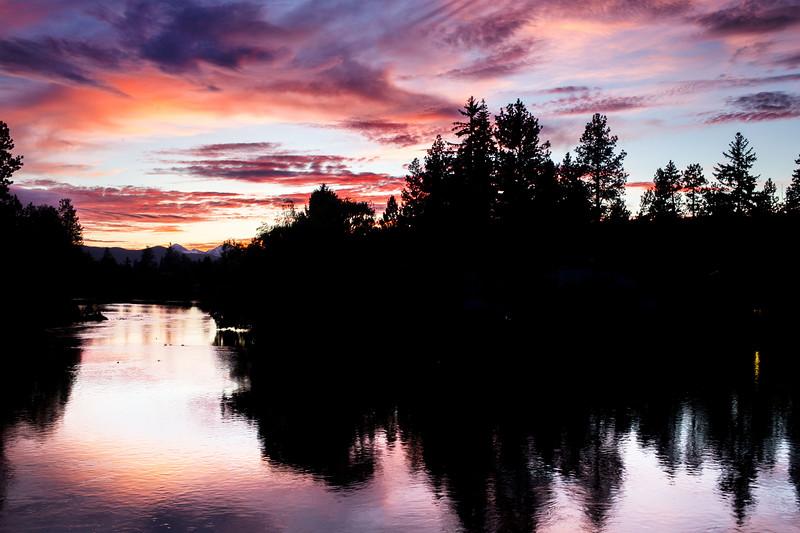 Sunset in Bend, Oregon