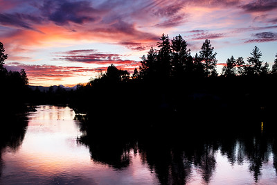 Sunset in Bend, Oregon