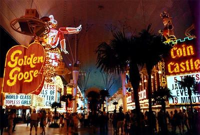 Freemont Street Downtown Las Vegas