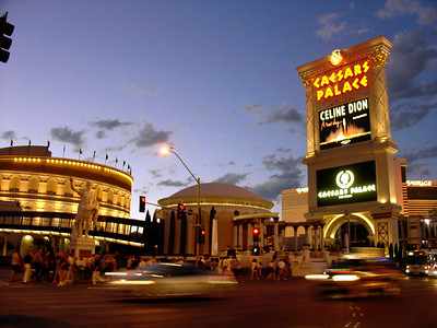 Caesars Palace on The Strip
