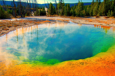 Yellowstone National Park in North America