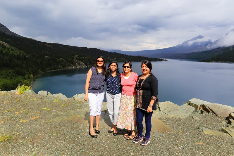 At Saint Mary Lake
