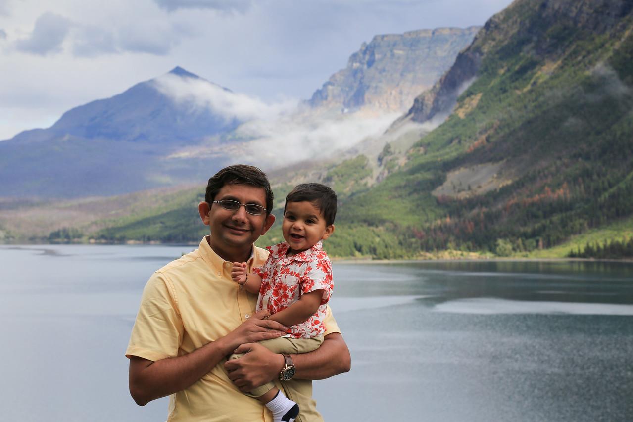 At Saint Mary Lake