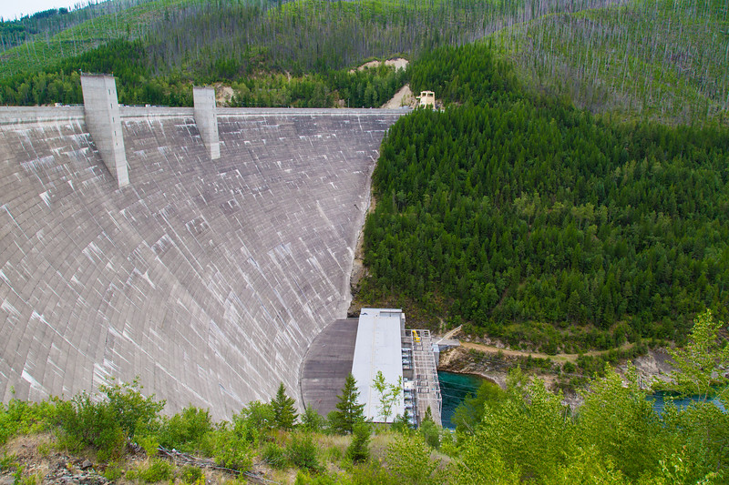 Hungry Horse Dam / Reservoir