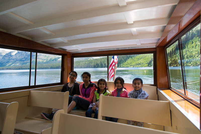 Two Medicine Lake Boat Tour