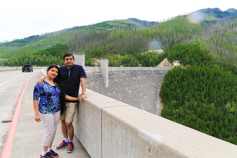 At Hungry Horse Dam