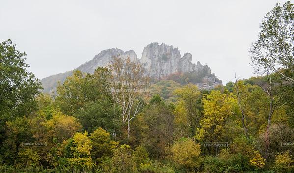 Seneca Rocks, West Virginia, USA