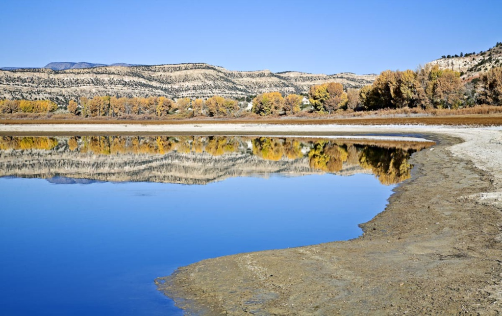 Petriffied Forest Park Lake.