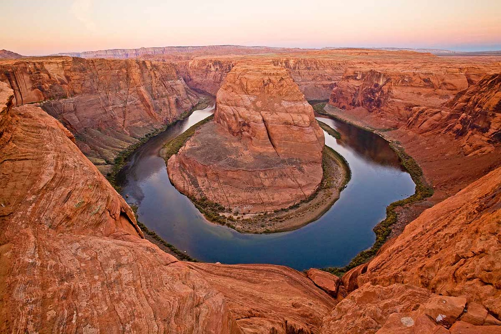 Horseshoe Bend in the Colorado River outside Page.