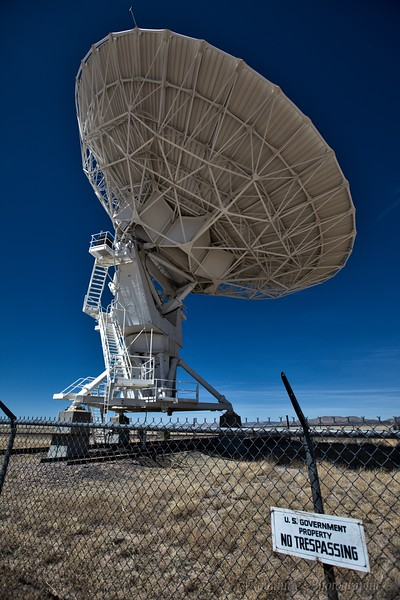 Although not part of White Sands, I could not resist including these images of the Very Large Array radio observatory.