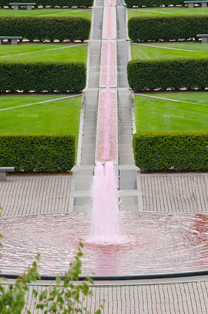 Pink Fountain in Milwaukee, Wisconsin, USA
