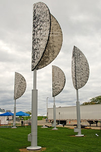 Movable wings installation in Milwaukee