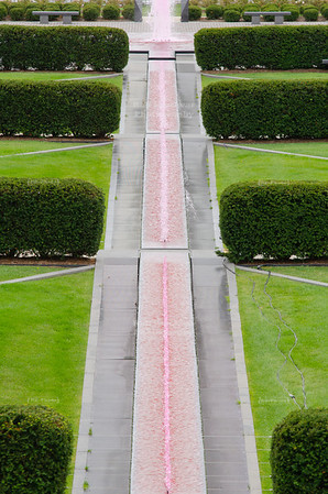 Pink Fountain in Milwaukee, Wisconsin, USA