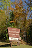 Entrance sign to Ed's Lake Skiing and Hiking Trails, Nicolet National Forest, Wisconsin, USA