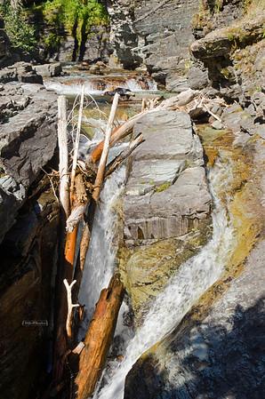 Sunrift Gorge, Glaciers National Park