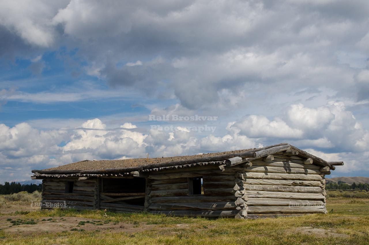 Historic Farm House in Grand Teton National Park