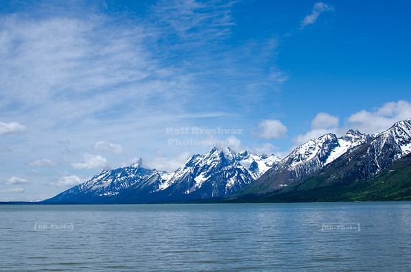 Jackson Lake and the Teton Range, Grand Teton National Park, Wyoming, USA