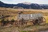 Old Farm Wagon in Montana