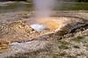 Pump Geyser is a cone geyser in the Upper Geyser Basin of Yellowstone National Park, Wyoming, USA