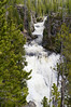 Kepler Cascades on the Firehole River in Yellowstone National Park, Wyoming, USA