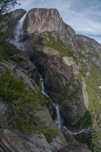 Yosemite Falls, all three