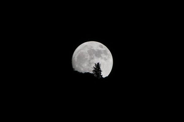 Super moon in Yosemite