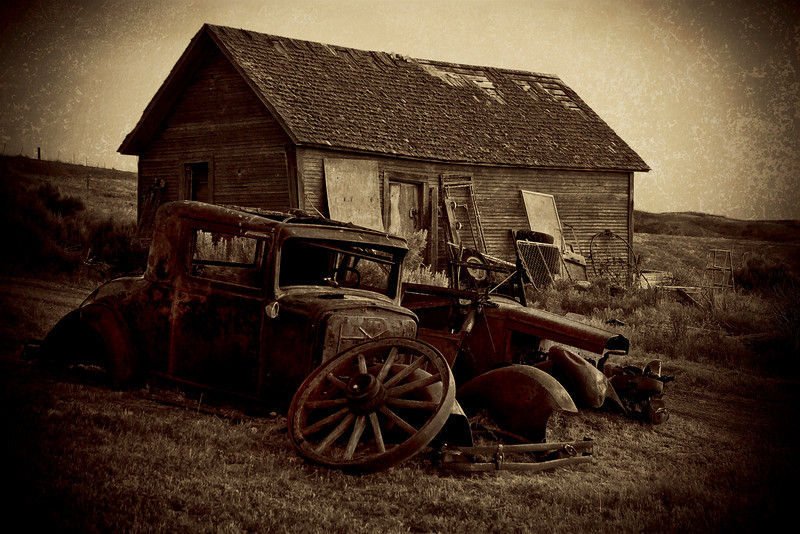 """Retired"" - Chubbuck, Idaho - USA"